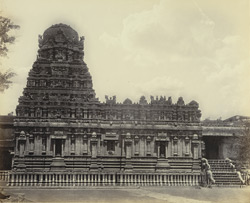 Tanjore Pagoda. Another view of the Subramanya Temple.